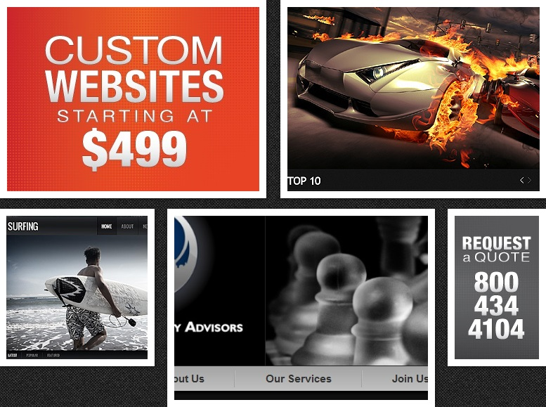 Sites from $499